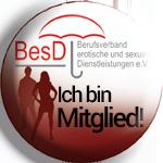 Ich bin Mitglied im Berufsverband erotische und sexuelle Dienstleistungen e.V.